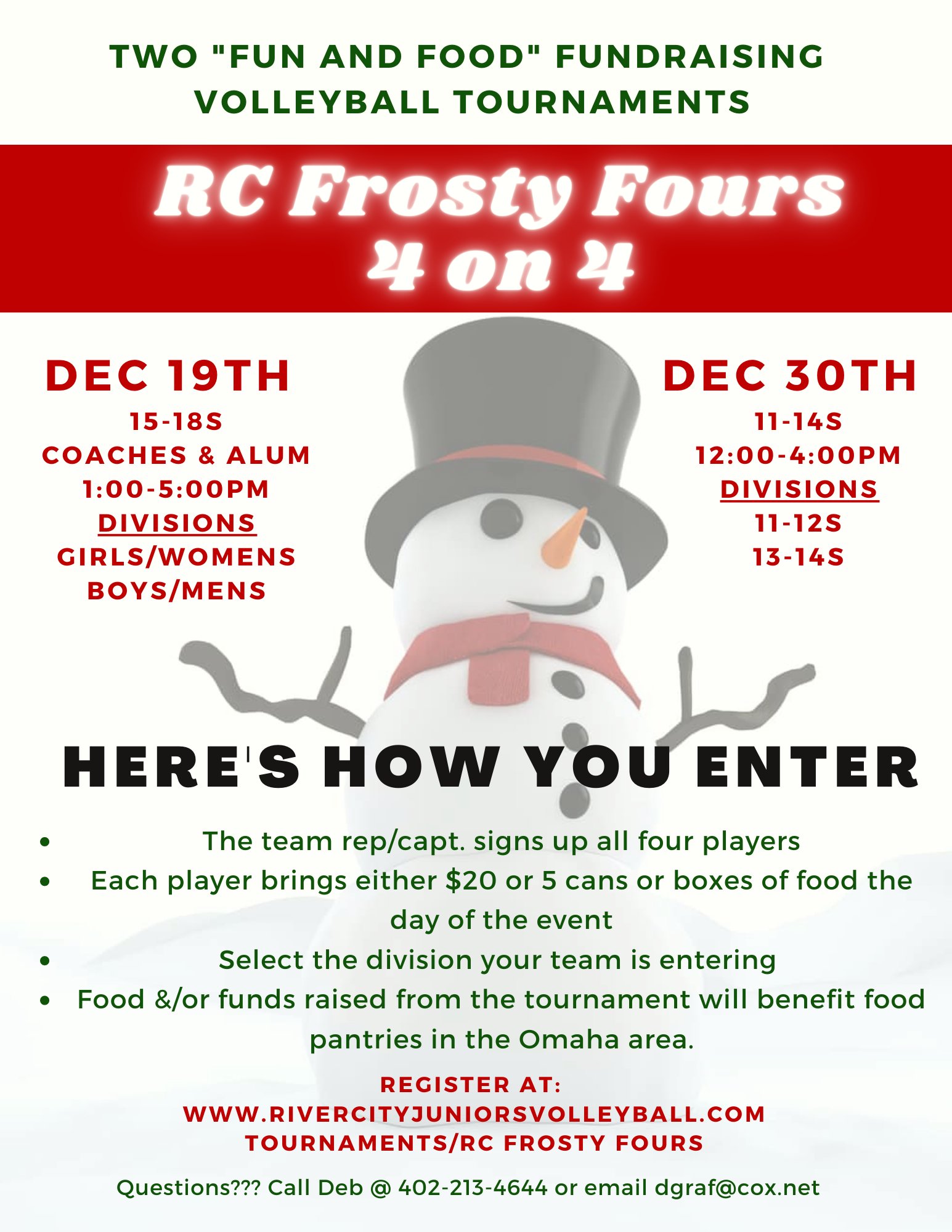 RC Frosty Fours tournament-2